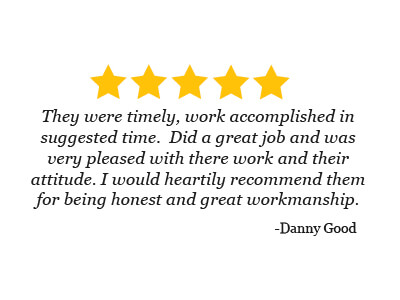 5 star review from Danny Good on the great workmanship and honesty of Mark Hansen's CARS