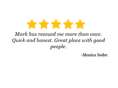 5 star review from Monica Soder