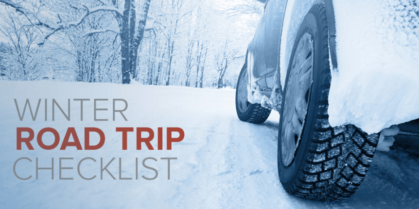 Winter Road Trip checklist information